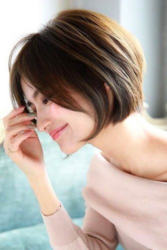 60+Pretty Ladies Short Haircuts -They Have Dreamt Of This Hairstyles 27