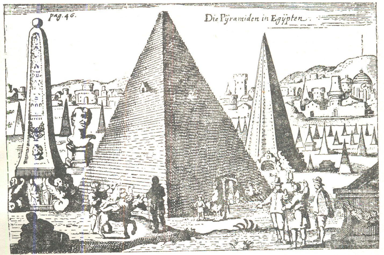 The Great Sphinx of Giza from Jan Sommer, (unpublished) Voyages en Egypte des annees 1589, 1590 & 1591, Institut de France, 1971 (Voyageurs occidentaux en Égypte 3)