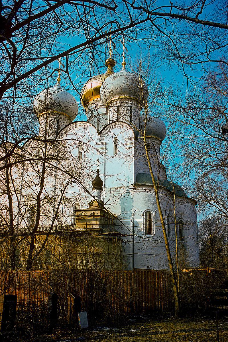 Смоленский собор Новодевичьего монастыря