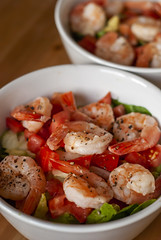 Avocado Shrimp Bowl