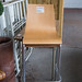 High beech stacking chair E50