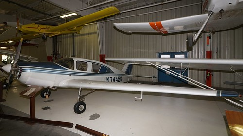 midamerica museum airplane aviation aircraft aeroplane liberal kansas usa bellanca 1413 14132 cruisair senior n74456 air johnny comstedt