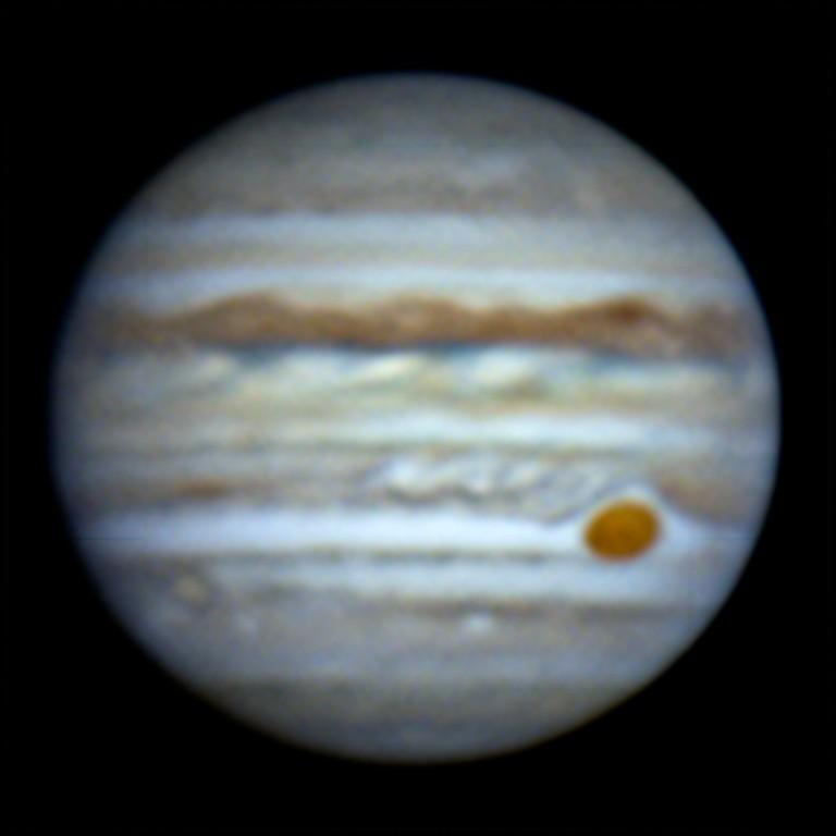 木星 (2018/7/1 20:08-20:12) (1000/3000 x3 de-rotation)