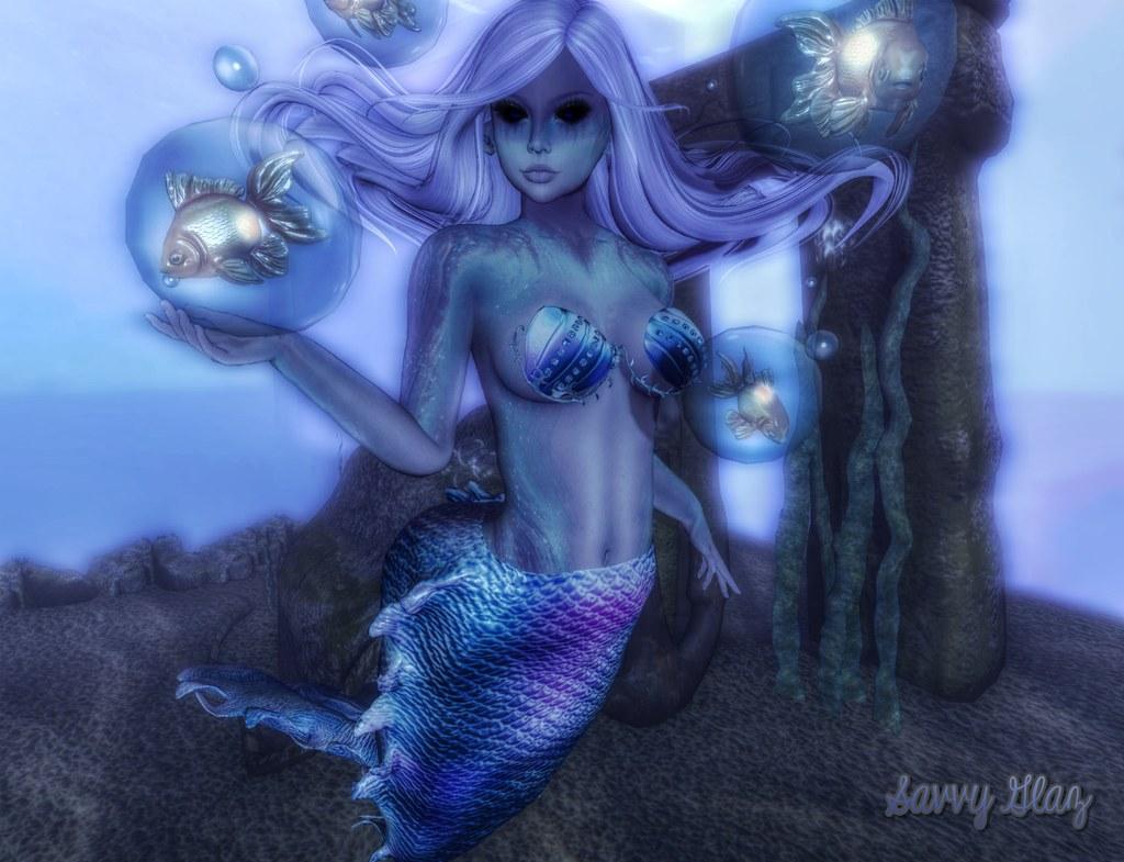 Wicked lil mermaid
