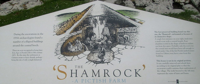 Shamrock Building Information Board