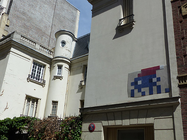 space invader rue pajou
