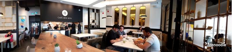 Cafe Bon Bon interior