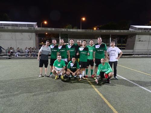 Retelec, subcampeón de la Copa de las Empresas