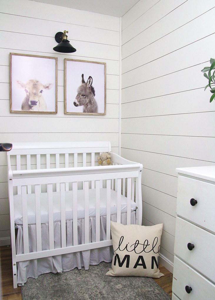 Tiny Nursery Bedroom Makeover
