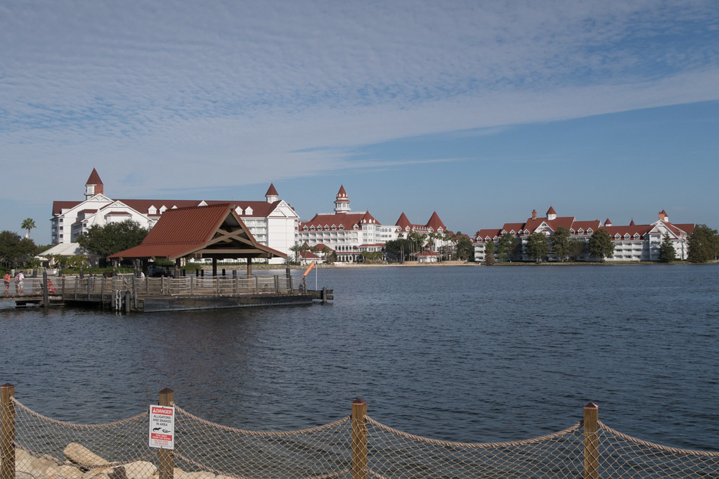 View of Grand Floridian Hotel from the Polynesian