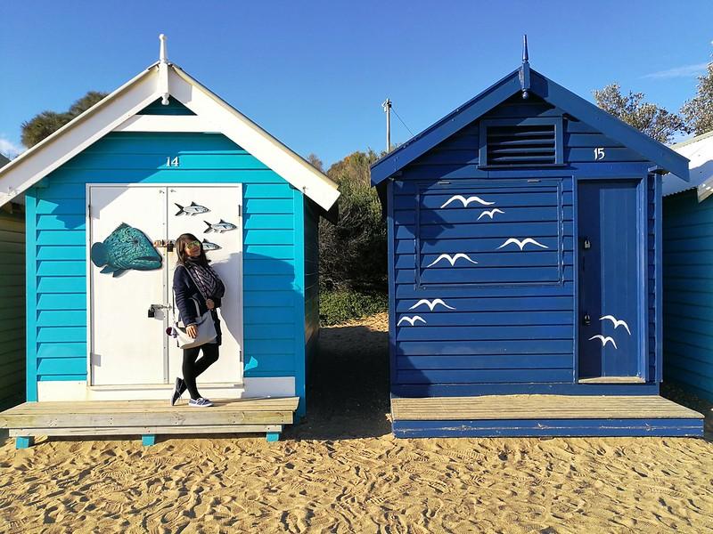 2017 Australia Melbourne Brighton Beach Bathing Boxes 2