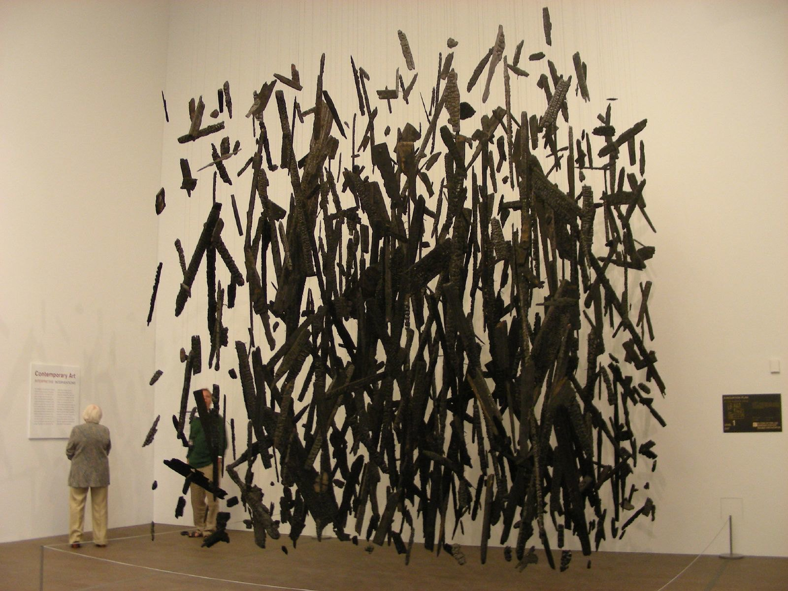 Photo of Anti-Mass by Cornelia Parker