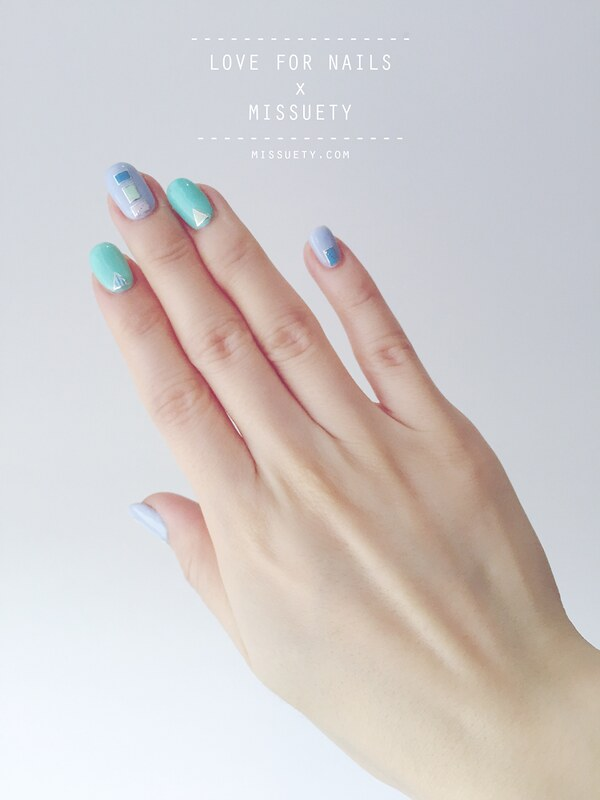 MisSuetY - Minimalist Nail Art: all about shapes - MisSuetY