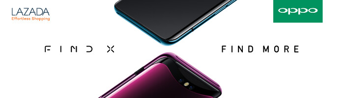 Lazada Pre-order OPPO Find X