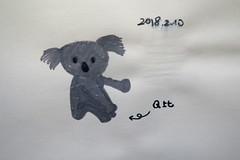 20180210-zozo畫無尾熊