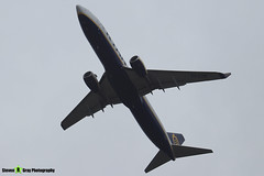 EI-FZM - 44785 - Ryanair - Boeing 737-8AS - Donington - 180402 - Steven Gray - IMG_0256