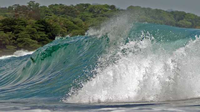 wave, breaking