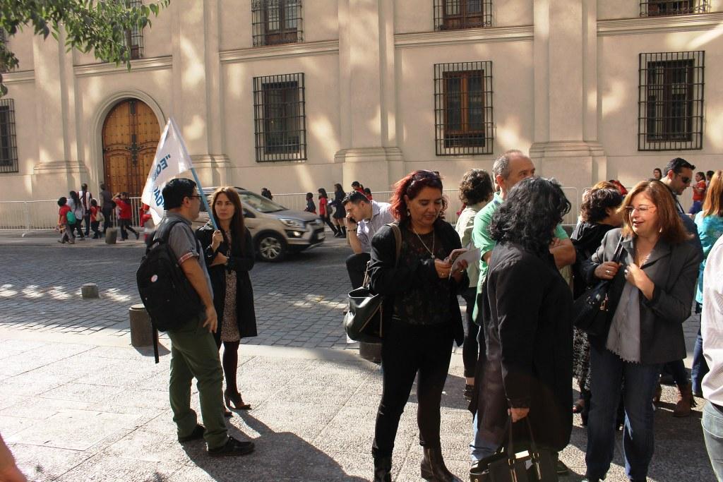 ANEF y Asociaciones en Contraloría por despidos (20-04-2018)