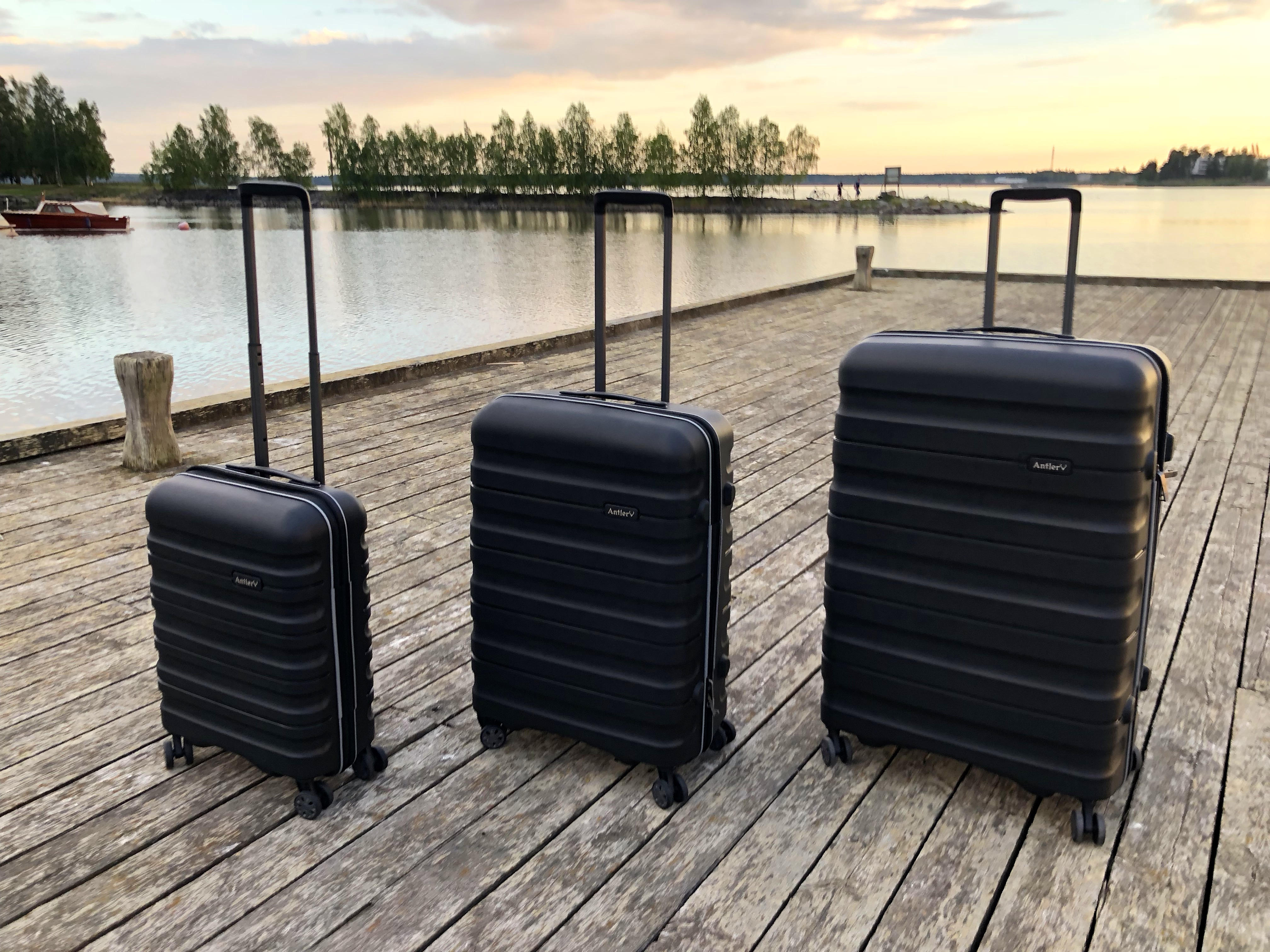 Antler Juno II suitcase set 15