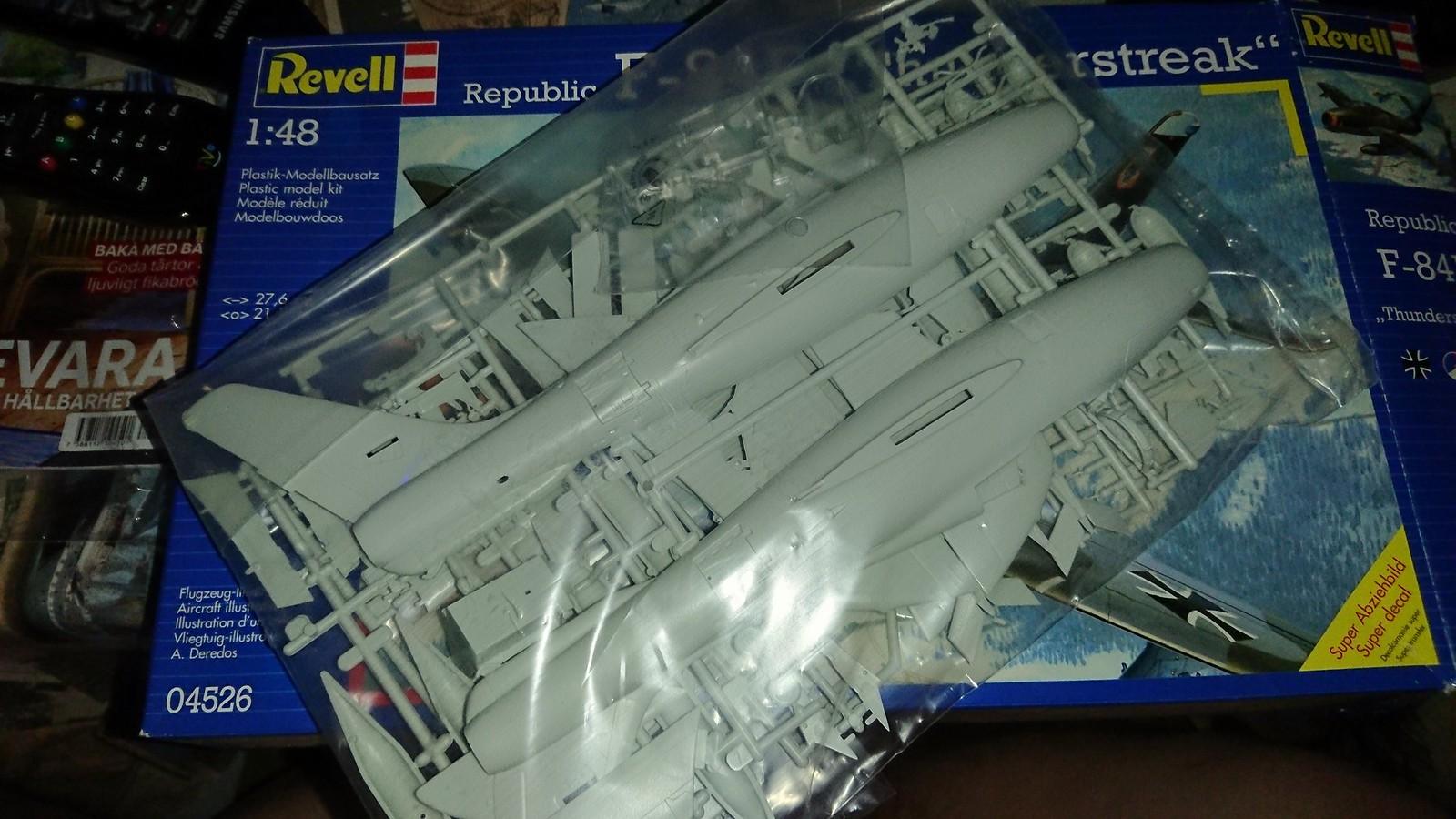 Bundesluftwaffe F-84F JaboG 33 - Revell 1/48 41849591990_88267a7f2d_h