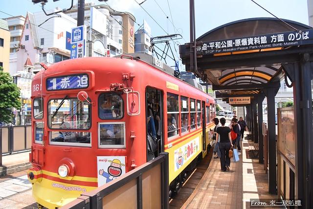 長崎電車+長崎車站02