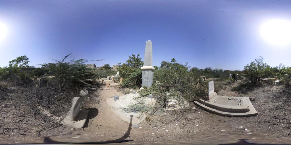 Jewish cemetery in Karachi