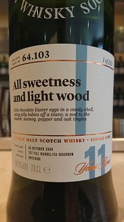 SMWS 64.103 - All sweetness and light wood