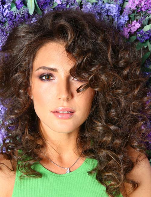 Adorable Layered Curly Hairstyles For Great Style |2018 6