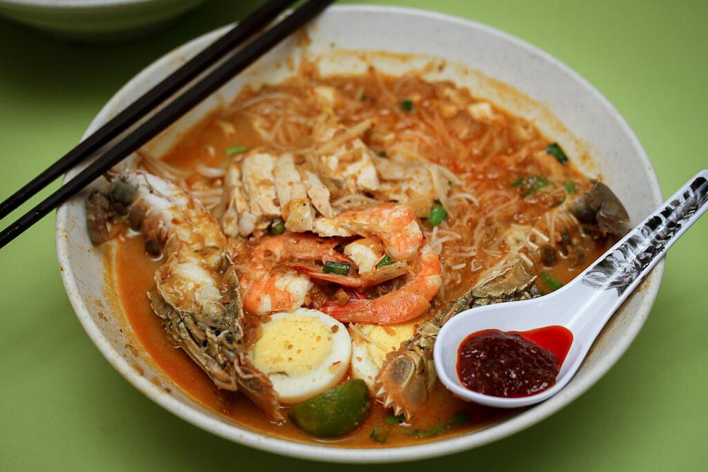 Famous Sungei Road Trishaw Laksa Mee Siam 1