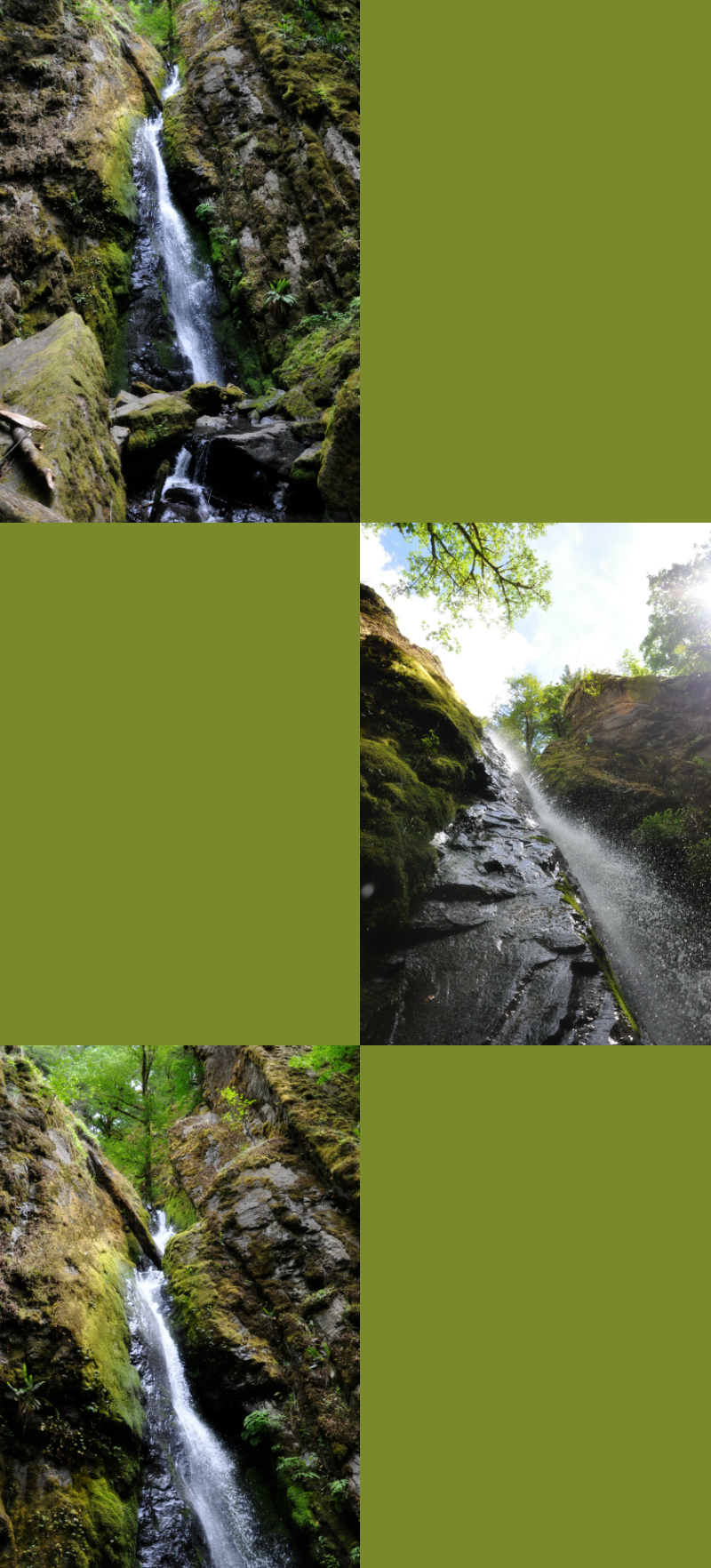 Cascadia Soda Creek Falls Collage @ Mt. Hope Chronicles
