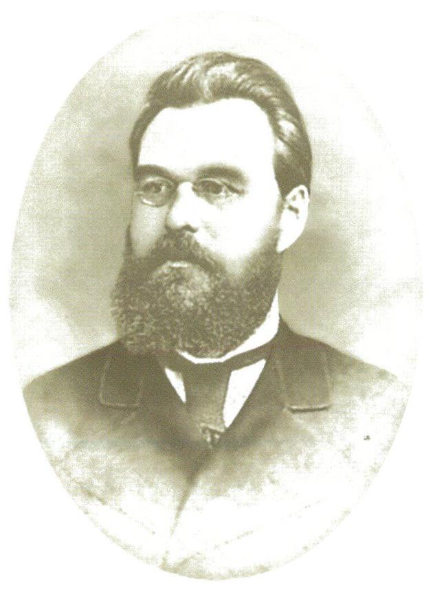 П.Н. Журавлев - управляющий в Тарханах в 1867-1902 гг. Фотография. 1880 г.