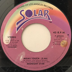 MIDNIGHT STAR:MIDAS TOUCH(LABEL SIDE-A)