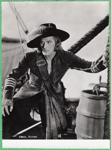 Errol Flynn in Captain Blood (1935)