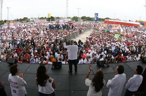 Cierre de Campaña - AMLO en Cancún, Q. Roo (26/jun/2018)