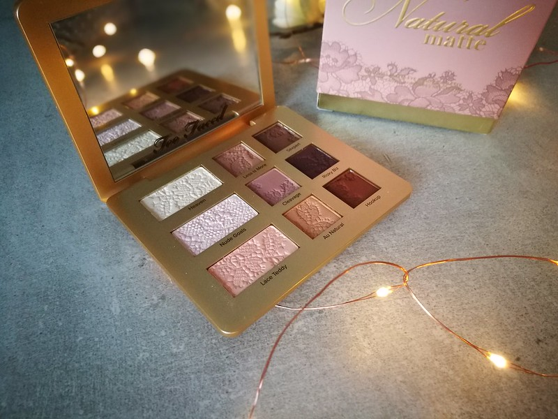 Too Faced Natural Matte Eyeshadow Palette Review, Cruelty Free