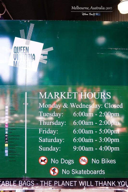 2017 Australia Melbourne Day 1 Queen Victoria Market 3