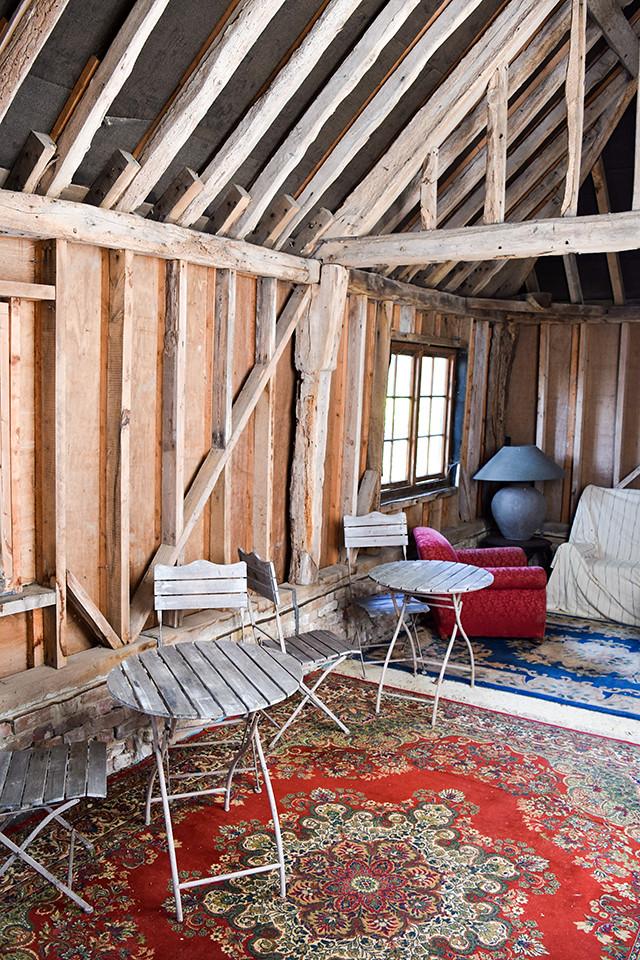 Inside The Barn at Wealden Literary Festival 2018