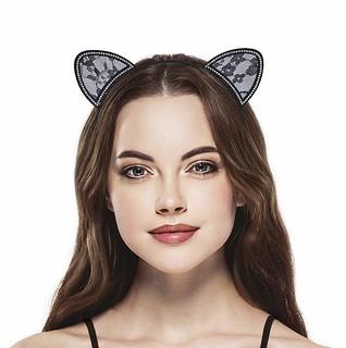 Diademas de orejas de gato