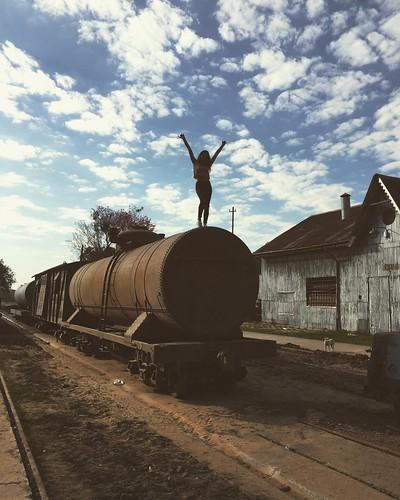 Vieja estación de ferrocarril