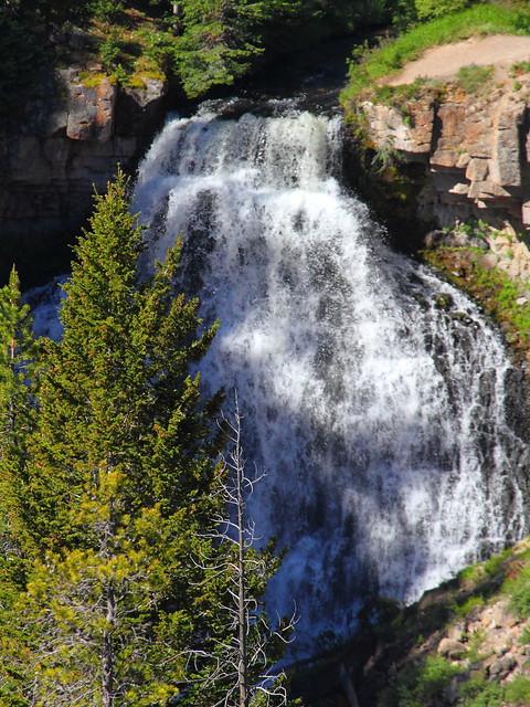 IMG_6435 Rustic Falls, Yellowstone National Park