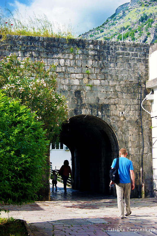 Речные ворота, вид из Старого города