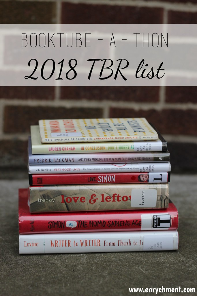 Booktubeathon TBR list 2018
