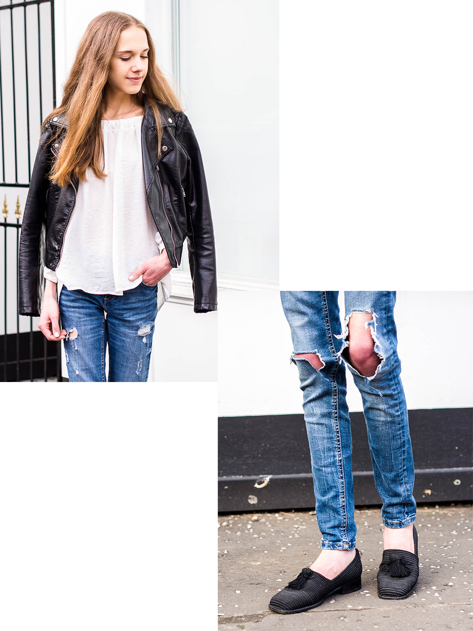 distressed-denim-jeans-biker-jacket-stuart-weitzman