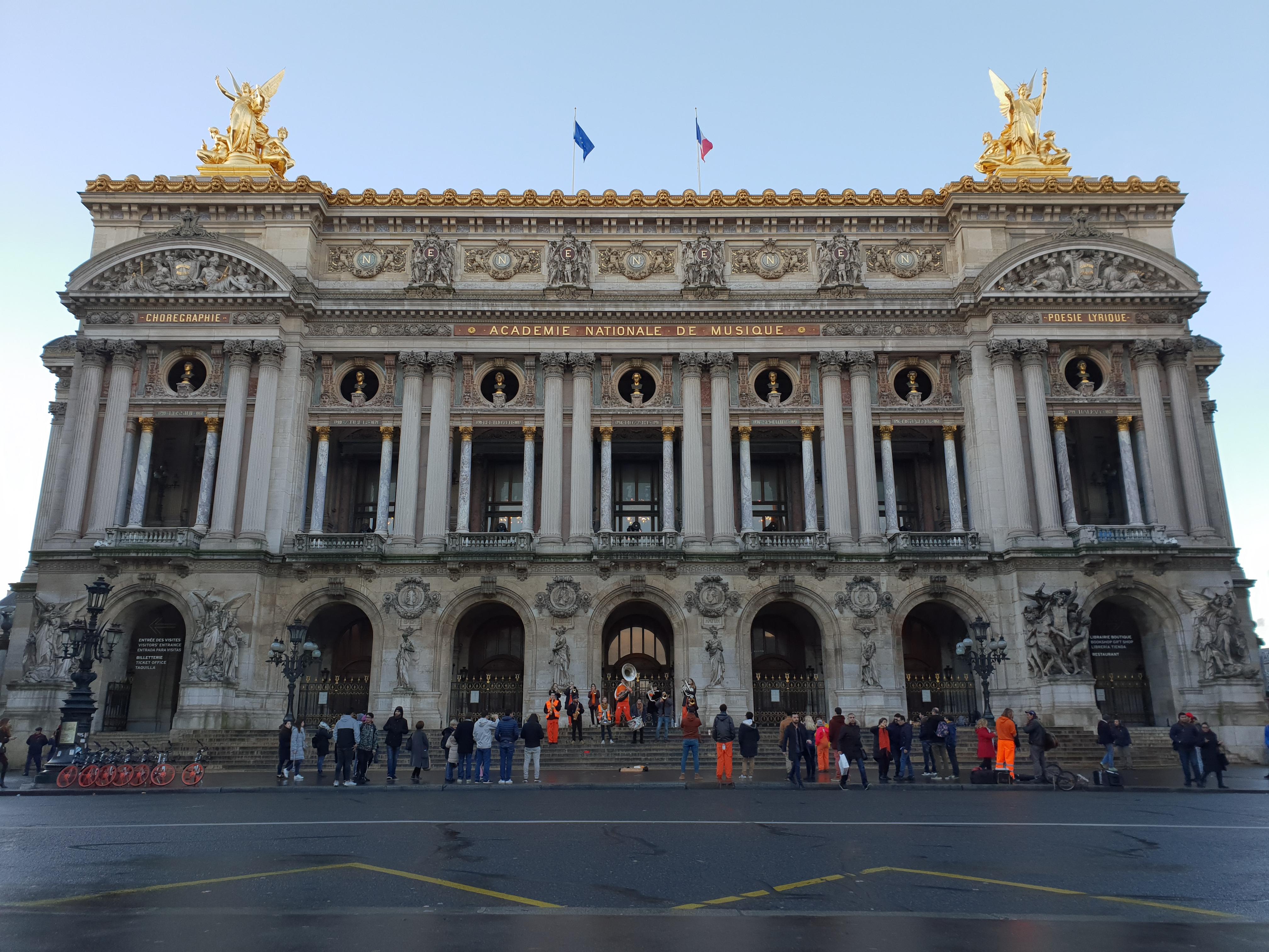 巴黎歌劇院Opéra de Paris-1