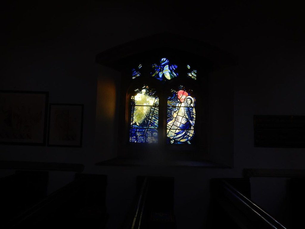 Church window, Wendens Ambo Wendens Ambo Circular