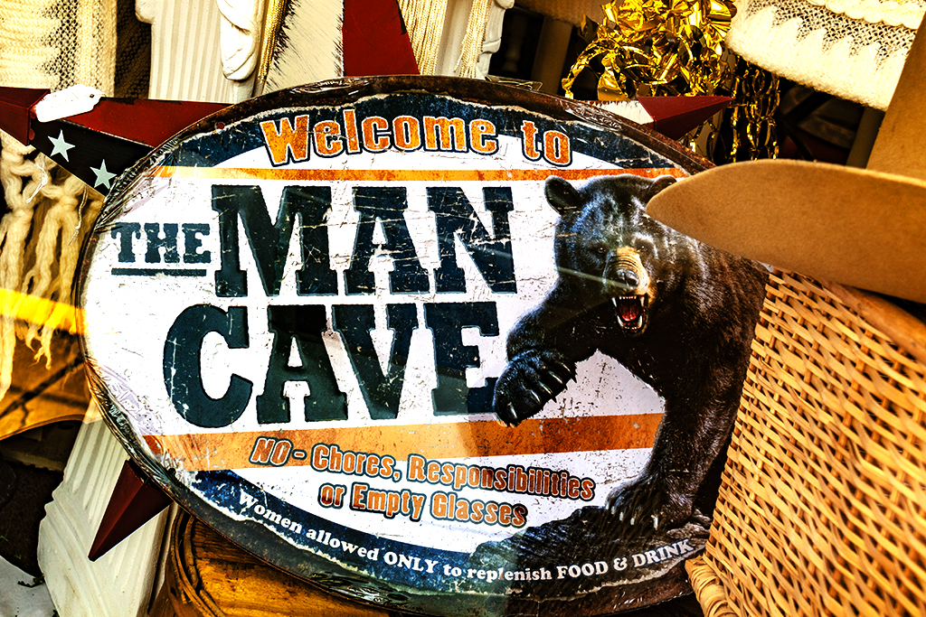THE MAN CAVE--New Holland