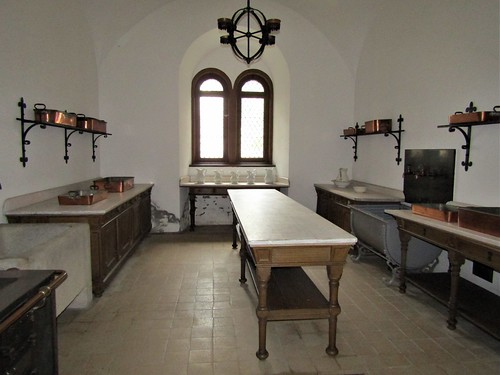 kitchen in Neuschwanstein Castle