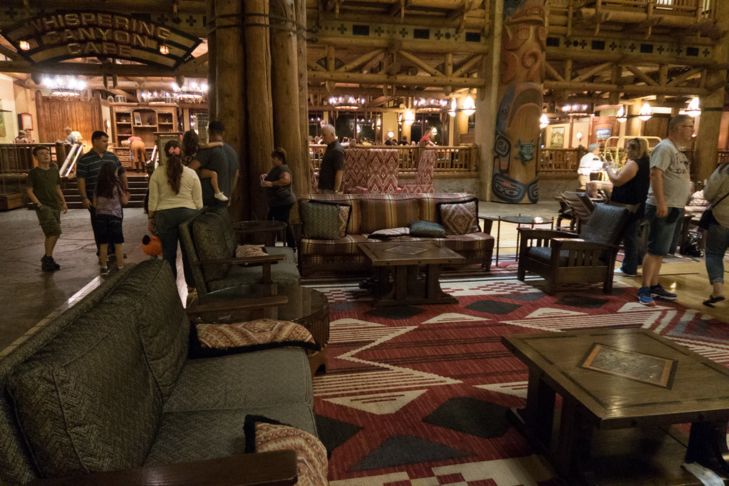 Lobby Furniture at Wilderness Lodge