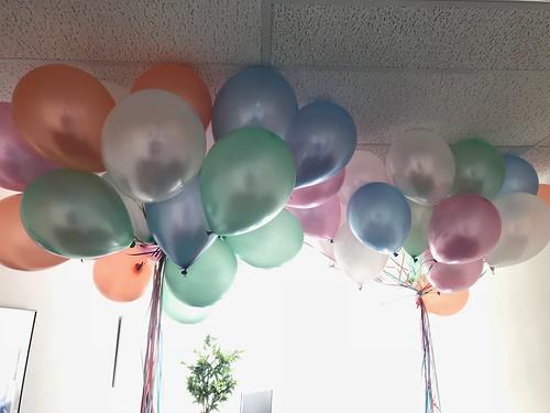 Heliumballonnen Gemeentehuis Piershil