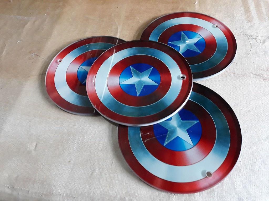 Thớt kính cường lực 3D Captain America Wada744